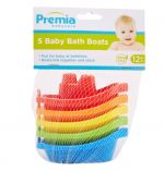 PREMIA BABY BATH BOATS 5 PACK