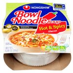 NONGSHIM BOWL NOODLE 3.03 OZ HOT &ampamp SPICY