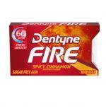 DENTYNE FIRE SPICY CINNAMON GUM