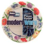 PLATE RD 10.25&ampquot 10 CT#MODERNWARE