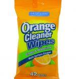 ORANGE CLEANER WIPES 42 COUNT