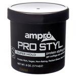 AMPRO HAIR GEL 6 OZ SUPER HOLD