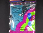 BALLOONS TURQUOISE