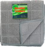 GRAY SCRUBBER 2 PACK 12 X 12 INCH
