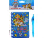 PAW PATROL NOTEBOOK WITH PEN
