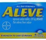 ALEVE 6 CAPLETS