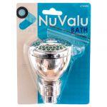 NUVALU SHOWER HEAD WDOUBLE BLISTER