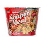 NISSIN SOUPER MEAL BEEF 4.3 OZ