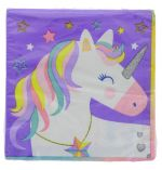 STAR UNICORN NAPKIN 16 COUNT