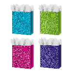 LARGE GLITTER GIFT BAGS