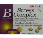 GSL STRESS B COMPLEX SUPPLEMENT 30 TABLETS