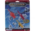 SKY FORCE AIRPLANE COLLECTION 4 COUNT XXX
