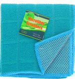 TEAL SCRUBBER 2 PACK 12 X 12 INCH