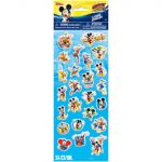 DISNEY MICKEY MOUSE 24 COUNT STICKER