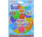 HAPPY BIRTHDAY NON LATEX BALLOON 18 INCH