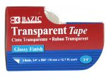 Transparent Tape 3PC