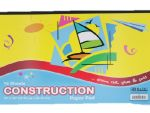 Construction Paper Pad 18X12IN