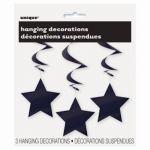 HANGING DECOR MIDNIGHT BLACK STAR