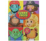 Funny Face Sticker Activity Book