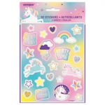UNICORN PART STICKERS 4 SHEETS
