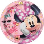 DISNEY MINNIE MOUSE 9 IN PLATE