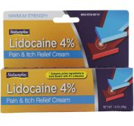 LIDOCAINE 4 PERCENT PAIN AND ITCH CREAM
