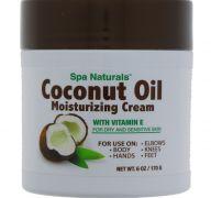 SPA NATURALS COCONUT OIL 6 OZ