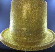 GLITTER HAT GOLD