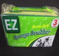 EZ Heavy Duty Scrubbing Sponge 3 Count