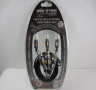 STEREO CABLE 6FT RCA