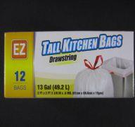 TALL KITCHEN BAGS 13 GL SUB