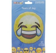 EMOJI TEARS OF JOY FACE BALLOON