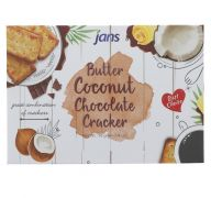 BUTTER COCONUT CHOCOLATE CRACKER