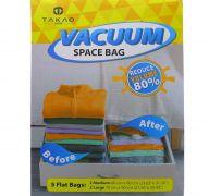 VACCUM SPACE BAG 2 MEDIUM 3 LARGE