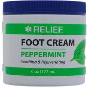 RELIEF EPSOM PEPPERMINT FOOT CREAM