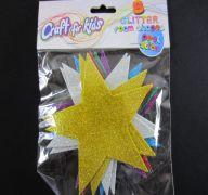 GLITTER FOAM STAR