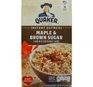 OATMEAL MAPLE AND BROWN SUGAR