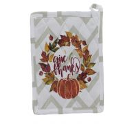 AUTUMN POT HOLDER AND OVEN MIT