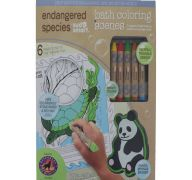 BATH COLORING SCENES ENDANGERED SPECIES