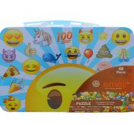 EMOJI 48 PC PUZZLE IN LUNCH BOX