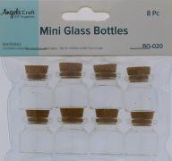 MINI GLASS BOTTLES 8 PACK