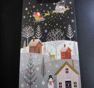 CHRISTMAS LARGE BAG SNATA ON HIS WAY