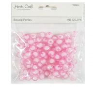 PINK BEADS 100 PC