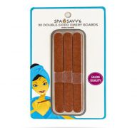 DOUBLE SIDED EMERY NAIL FILER 30 PACK