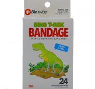 DINO T-REX BANDAGE 24 PCAK