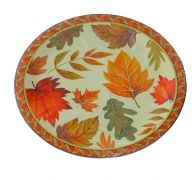 HARVEST FALL PAPER PLATE 9 INCH 10 PACK