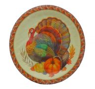 GIVE THANKS PAPER PLATES 12 COUNT 7 INCH