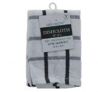 DISHCLOTH 2 PACK 12 X 12 INCH