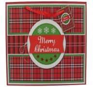 MERRY CHRISTMAS MEDIUM GIFT BAG