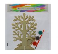 WOODEN TREE PAINTING SET